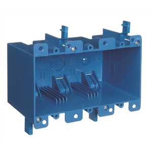 Carlon B355R 3-Gang 55 cu. in. Old Work PVC Electrical Box