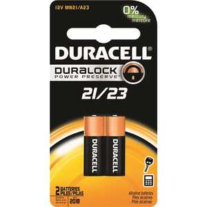 DURACELL 004133366150 A23 Alkaline Battery Pack of 2