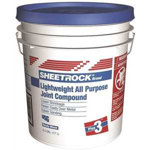 Sheetrock 381466 4.5 Gal. Plus 3 Lightweight All-Purpose Pre-Mixed Joint Compound