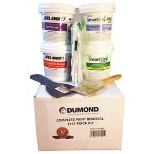 Dumond Chemicals TPK01W PEEL AWAY COMPLETE PAINT REMOVER TEST PATCH KIT