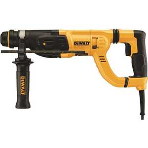 DEWALT D25262K 8 Amp 1 in. Corded SDS-plus D-Handle Concrete/Masonry Rotary Hammer with SHOCKS and Case