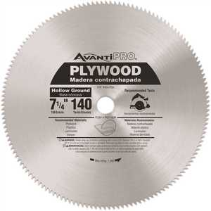 Avanti Pro 7-1/4 in. x 140-Teeth Plywood Saw Blade