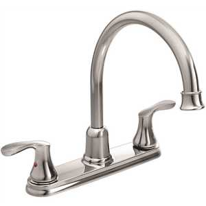 Cleveland Faucet Group 40617 Cornerstone 2-Handle Standard Kitchen Faucet in Chrome