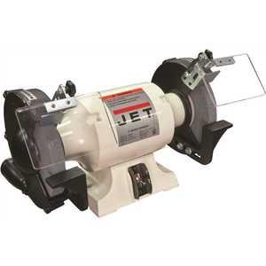 Jet 577102 1 HP 8 in. Industrial Metalworking Bench Grinder, 115-Volt JBG-8A Black
