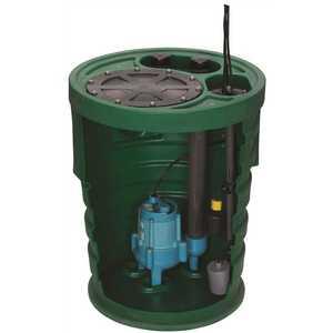 Franklin Electric 509661 PIT+PLUS SR. PREMIUM SIMPLEX SEWAGE PUMP & BASIN SYSTEM