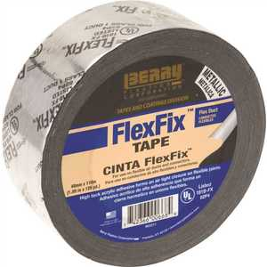 Berry Plastics 1141184 1.89 in. x 120 yd. Flexfix UL181B-FX Listed Tape