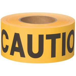 Shurtape Technologies, LLC 232531 BT 100 3 in. x 1000 ft. Caution Yellow Flagging Tape