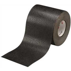 3M 19281 4 in. x 60 ft. Safety-Walk Slip-Resistant Conformable Tapes and Treads 510 in Black