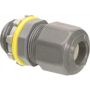 Arlington Industries LPCG50 1/2 in. Non-Metallic Liquid Tight/Oil Tight Arlington Strain Relief Cord Connector