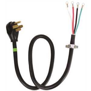 Whirlpool PT400 4 ft. 4-Wire 40 Amp Range Cord