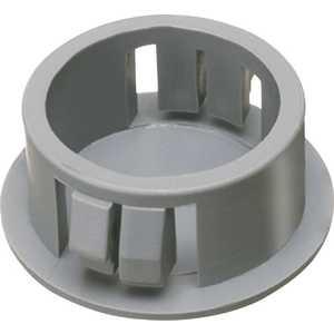 Arlington Industries NM900-XCP100 1/2 in. Plastic Snap-In Blank, Black - pack of 100