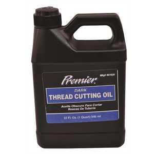 Premier 016105 THREAD CUTTING OIL LIGHT QUART