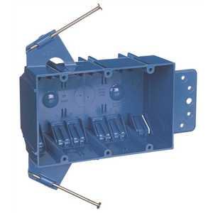 Carlon B344AB 3-Gang 44 cu. in. New Work Box Blue