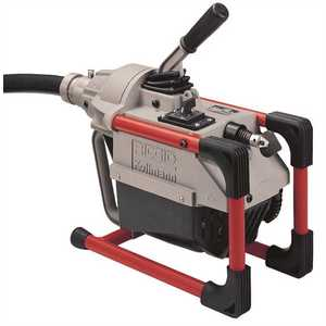RIDGID 66497 K-60SP-SE Sectional Machine for 1-1/4 in. to 4 in. Drain Lines