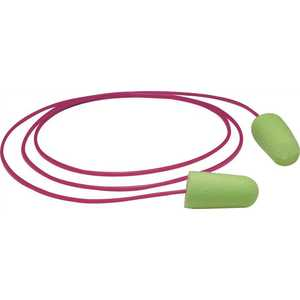 Moldex 6900 PURAFIT CORDED FOAM EARPLUGS, GREEN - pack of 100