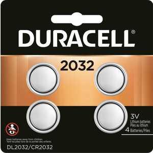 DURACELL 004133303026 Size 2032 3-Volt Lithium Battery