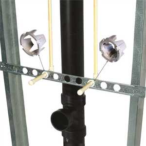 Holdrite 601-26-H 26 in. Galvanized Steel Bracket to Support CPVC Piping