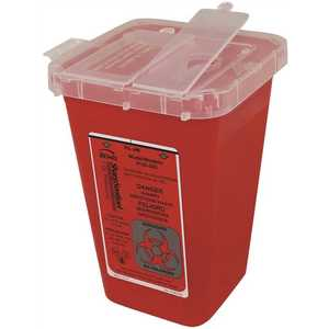 Impact Products 7350 1 qt. Container for Sharps in Red