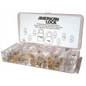 American Lock ASK8 Pin Tumbler Service Kit, Deep Storage Compartments and Sealing Cover, Pin Refills may be Ordered Seperately Pin Tumbler Pinning Kit Brass