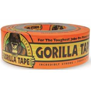 Gorilla 60035 1-7/8 in. x 35 yds. Heavy-Duty Duct Tape Black
