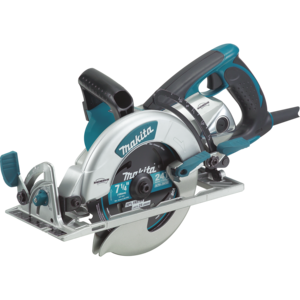 Makita® 5377MG 7-1/4 Inches Blade Diameter Corded Lightweight Magnesium Hypoid Circular Saw with built in Fan - Factory Reconditioned