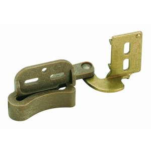 Marathon Knife Hinge Burnished Brass, 1/2-Inch