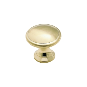 Amerock e14662ro74 Bi-Fold Closet Knobs Brushed Brass Set of Two