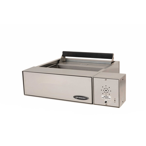 """Quikserv 9131I 24-1/8"""" (w) X 6-5/8"""" (h) Transaction Drawer for Smaller Items with Automatic Locking With Speaker Stainless Steel With Intercom"""