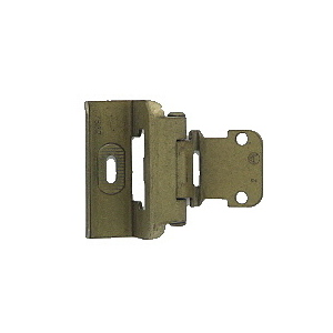Amerock p7537abb Self-closing Hinge, Full Wrap, Inset 3/8""