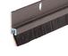 "CRL WS257DV72 72"" Extruded Dark Bronze Anodized and Nylon Brush Door 11/32"" Bristle Weatherstrip"