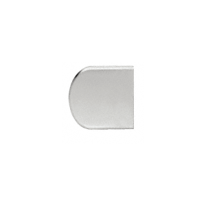 """Satin Chrome Z-Series Large Round Clamp for 1/4"""" Glass"""