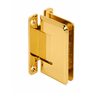 Ultra Brass Pinnacle 537 Series Wall Mount Full Back Plate Standard Hinge With 5 Degree Offset
