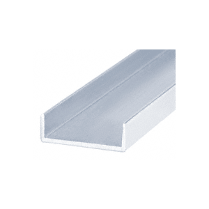Brite Anodized Single U-Channel