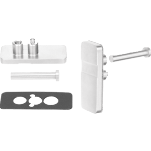 Polished Stainless Retainer Plate Kit