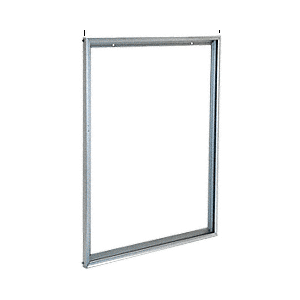 "Satin Anodized 24"" x 30"" Aluminum Mirror Frame"