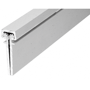Satin Anodized Roton 112HD Heavy-Duty Series Concealed Leaf Continuous Hinge