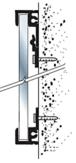 "CRL D1950A24X30 Satin Anodized 24"" x 30"" Aluminum Mirror Frame"