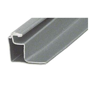 "Gray 1/2"" Roll Formed Aluminum Standoff Screen Frame - 144"" Stock Length"