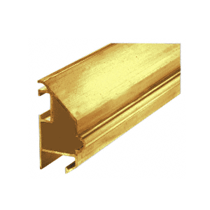 Brite Gold Anodized Victorian Mirror Frame Extrusion