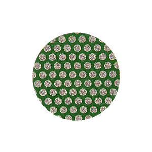"3M ZR0160 1"" 60 Grit Roloc Disc - Green"
