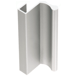 "Satin Anodized Aluminum 3"" Pull with 7/16"" Lip for Sliding Glass and Panel Door"