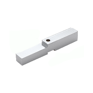 CRL HAB01BA Brite Anodized Adapter Block for Prima, Shell and Rondo Hinges