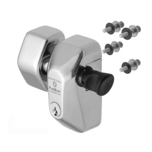 Polished Stainless Steel Security Face Mount Lock