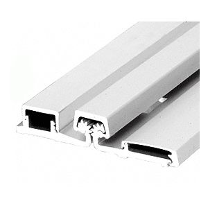 """Satin Anodized 83"""" Roton 157HD Series Heavy-Duty Full Surface Frame Face Continuous Hinge"""