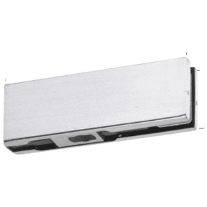 CRL PH10CBS Brushed Stainless Bottom Door Patch with 1NT301 Insert