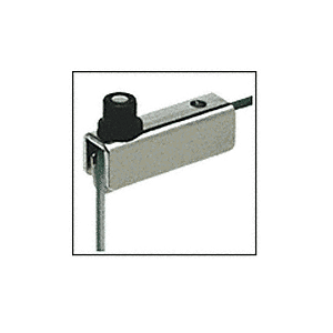CRL GDH5CH Chrome Standard Mount Glass Door Hinge