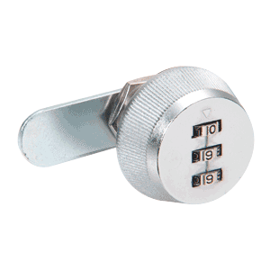 CRL 7850S Chrome Plated Combination Lock