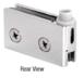 CRL FA55CH Chrome Flush Mount Cabinet Pivot Hinges