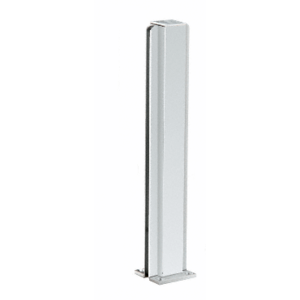 "CRL D990A24C Satin Anodized 24"" Center Design Series Partition Post"