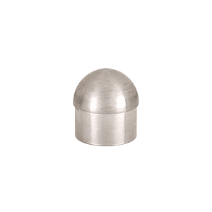 "CRL HR20DBS Brushed Stainless Dome End Cap for 2"" Tubing"
